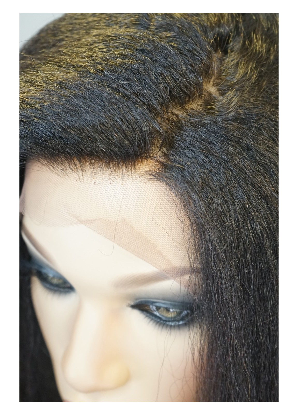 Brazilian Tresses | Kinky Straight Lace Front Wig
