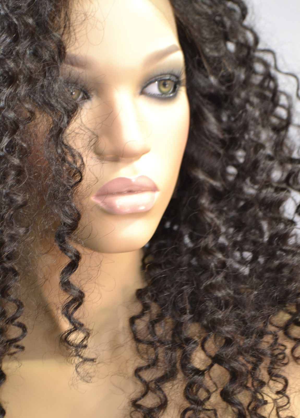 Curly Silk Top Full Lace Wigs