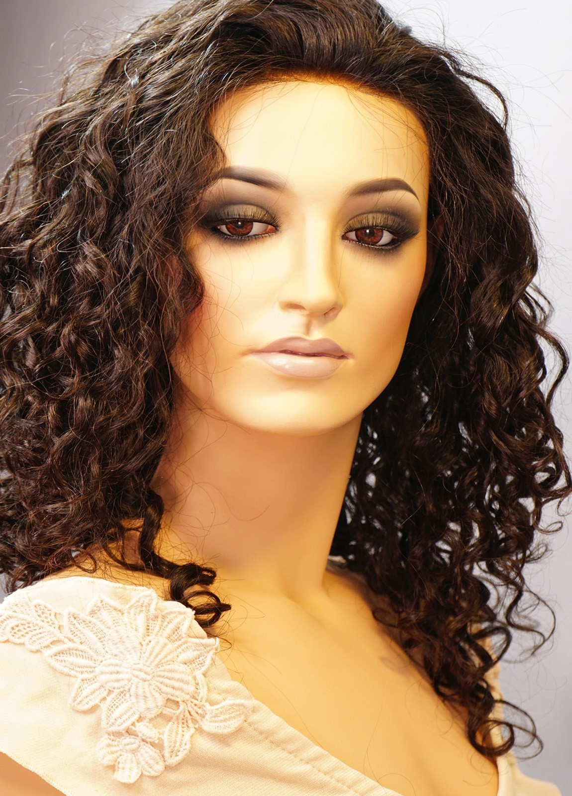Cassie | Glueless Lace wigs with silk top