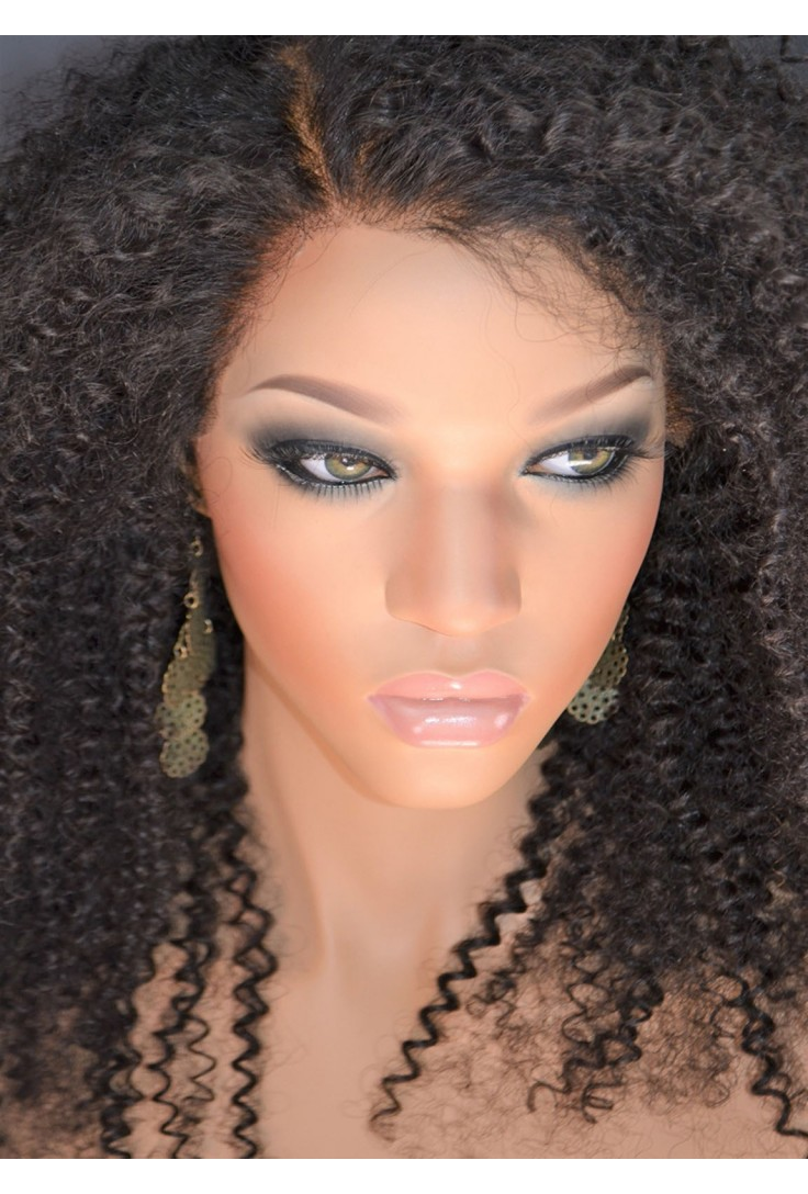 Tight Curly Hair Natural Wigs for African American Women