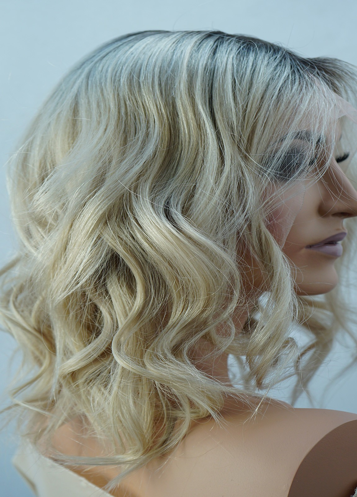 Rooted Blonde Wig