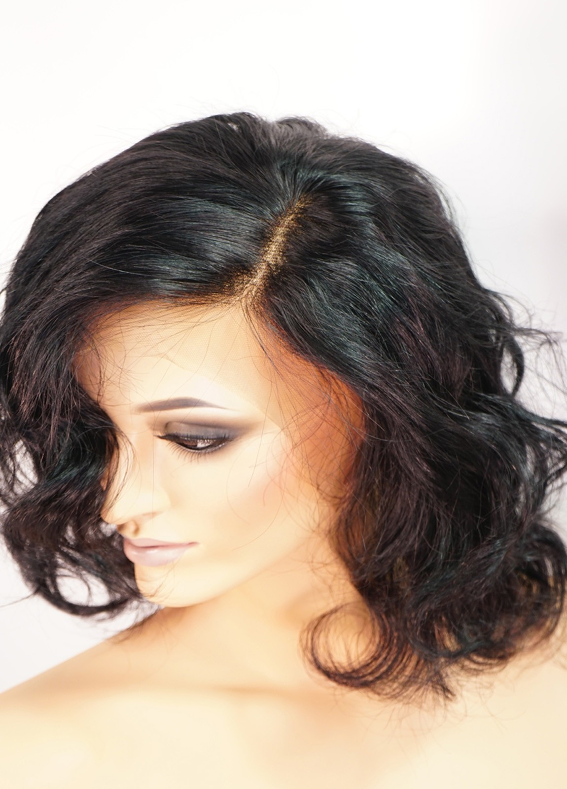 Katherine | Short Black Wigs Human Hair