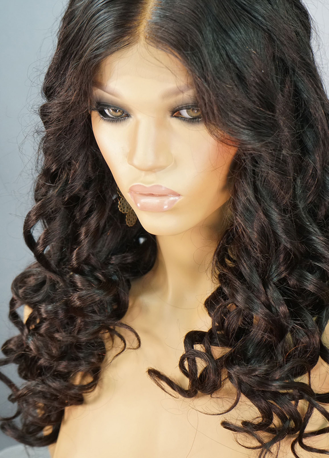 Caroline   Real Human Hair Lace Front Wigs