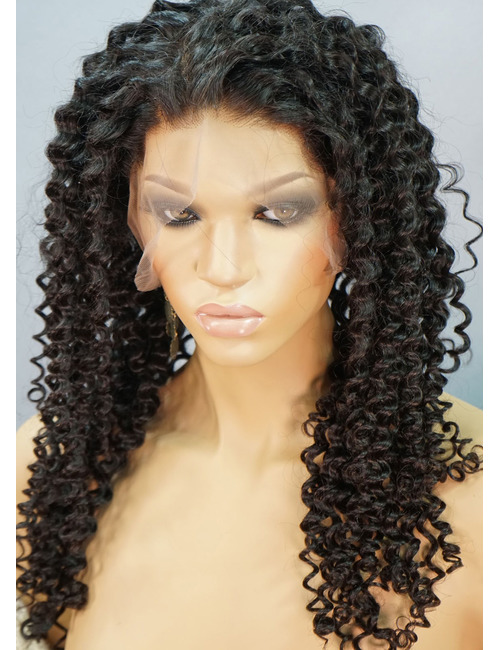 Spiral Curl Lace Front Wigs