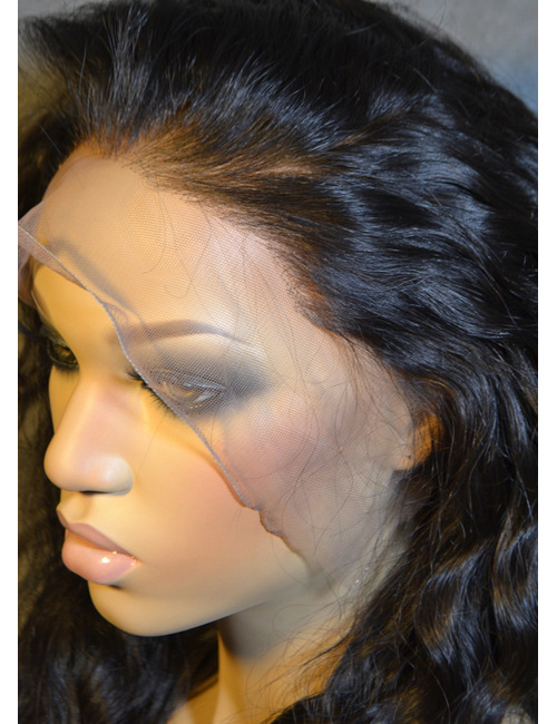 Wet and Wavy Lace Front Human Hair Wigs