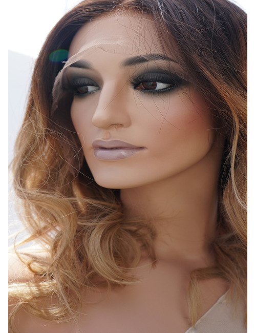 Medium Length Lace Front Wigs