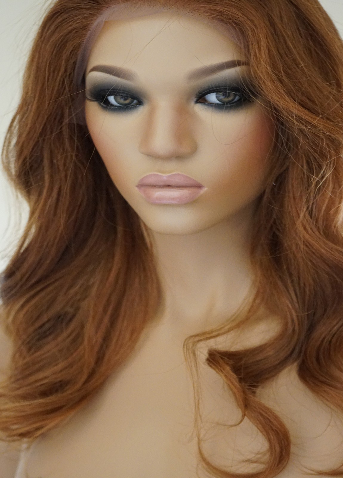 Medium Length Layered Wig