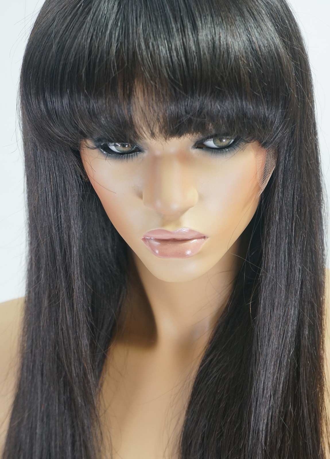 Silk Top Wig with bangs