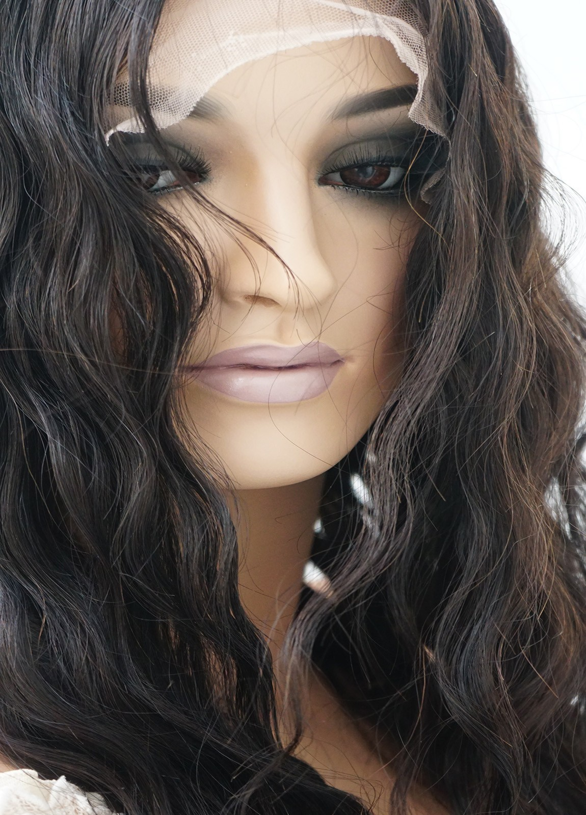 Wet and Wavy Human Hair Full Lace Wig