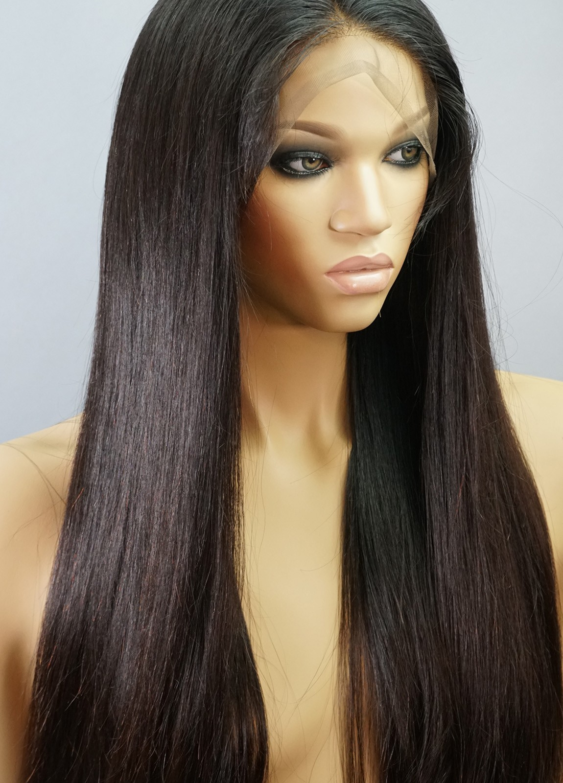 No Glue Lace Front Human Hair Wigs