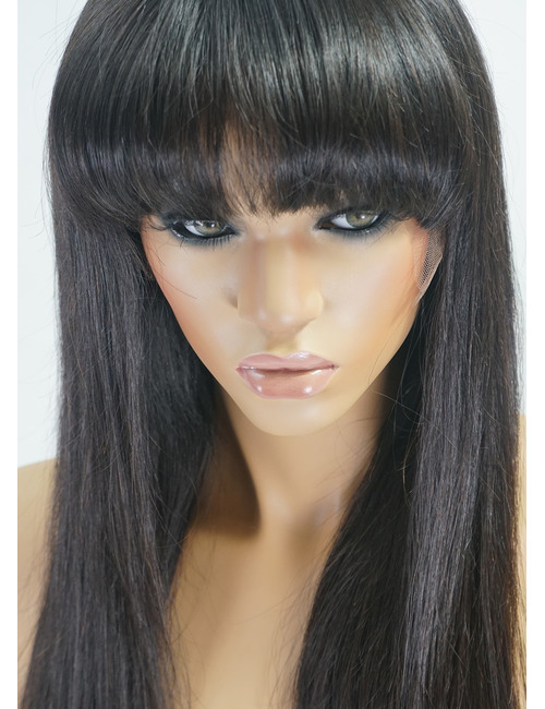Glueless Wigs with Bangs