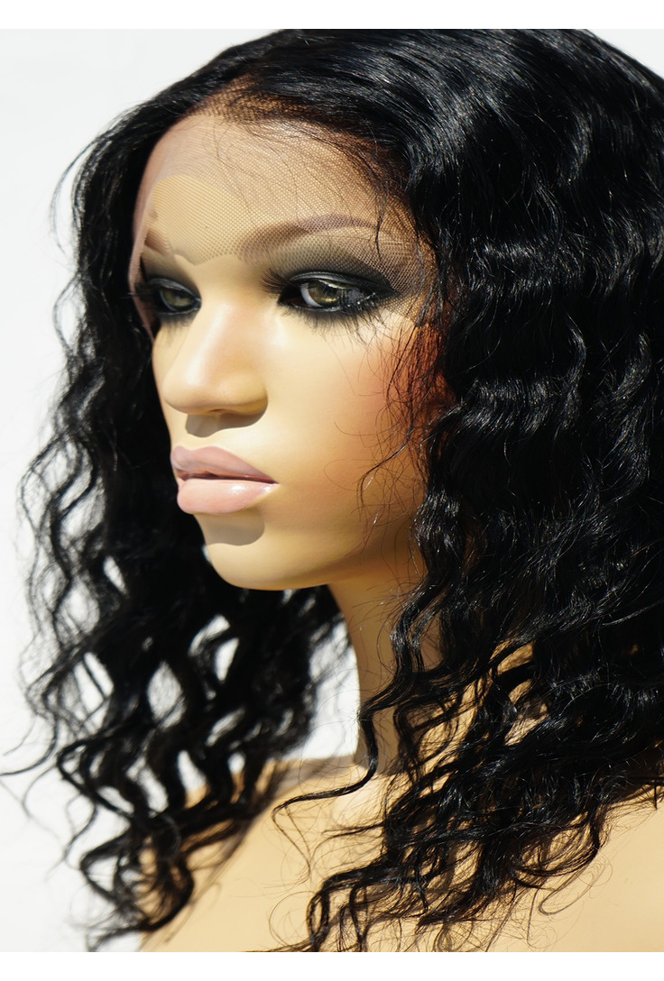 Wavy Lace Front Wigs Human Hair