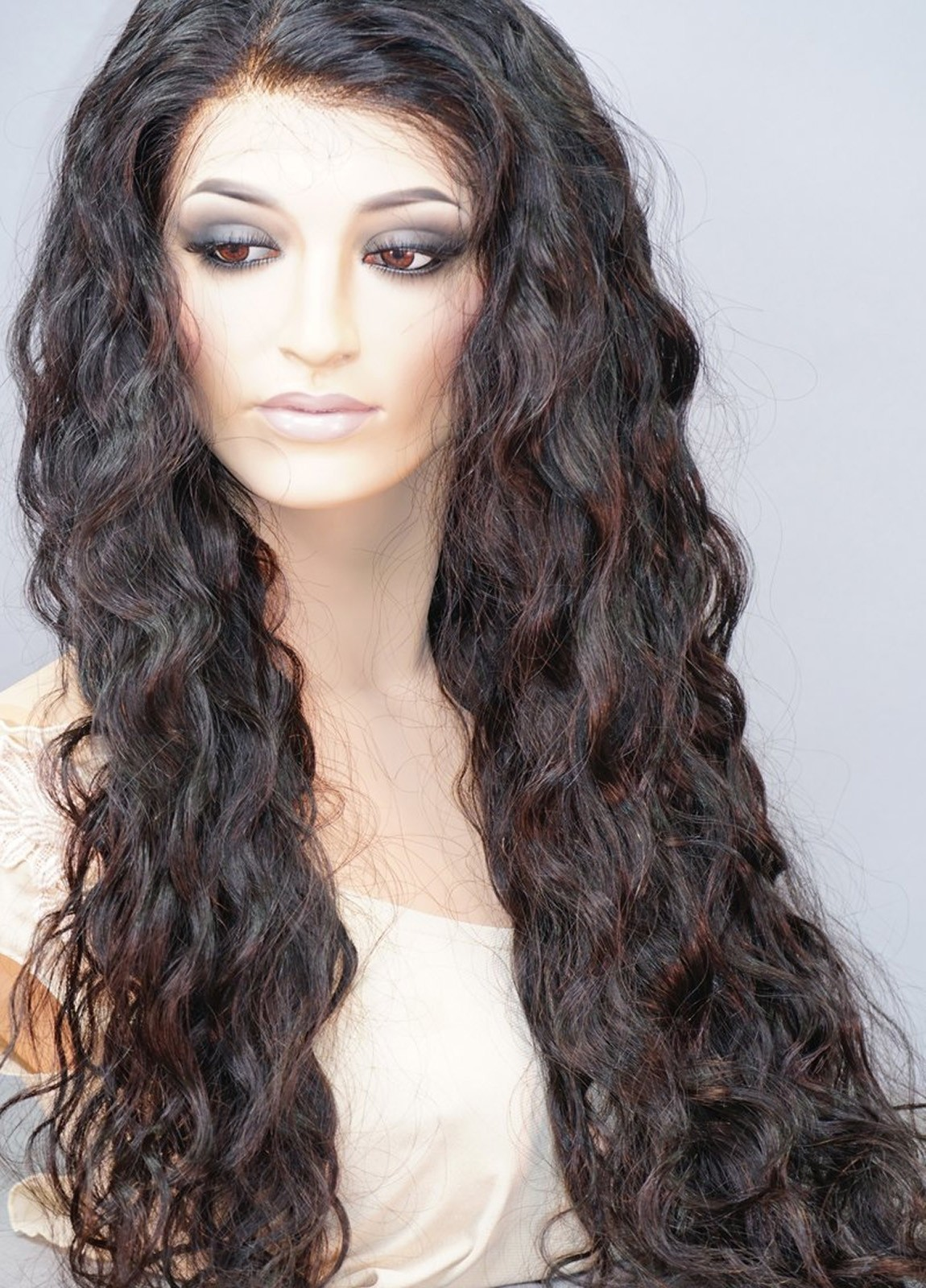 Lynn | Lace Front Human Hair Wig Natural Deep Wave