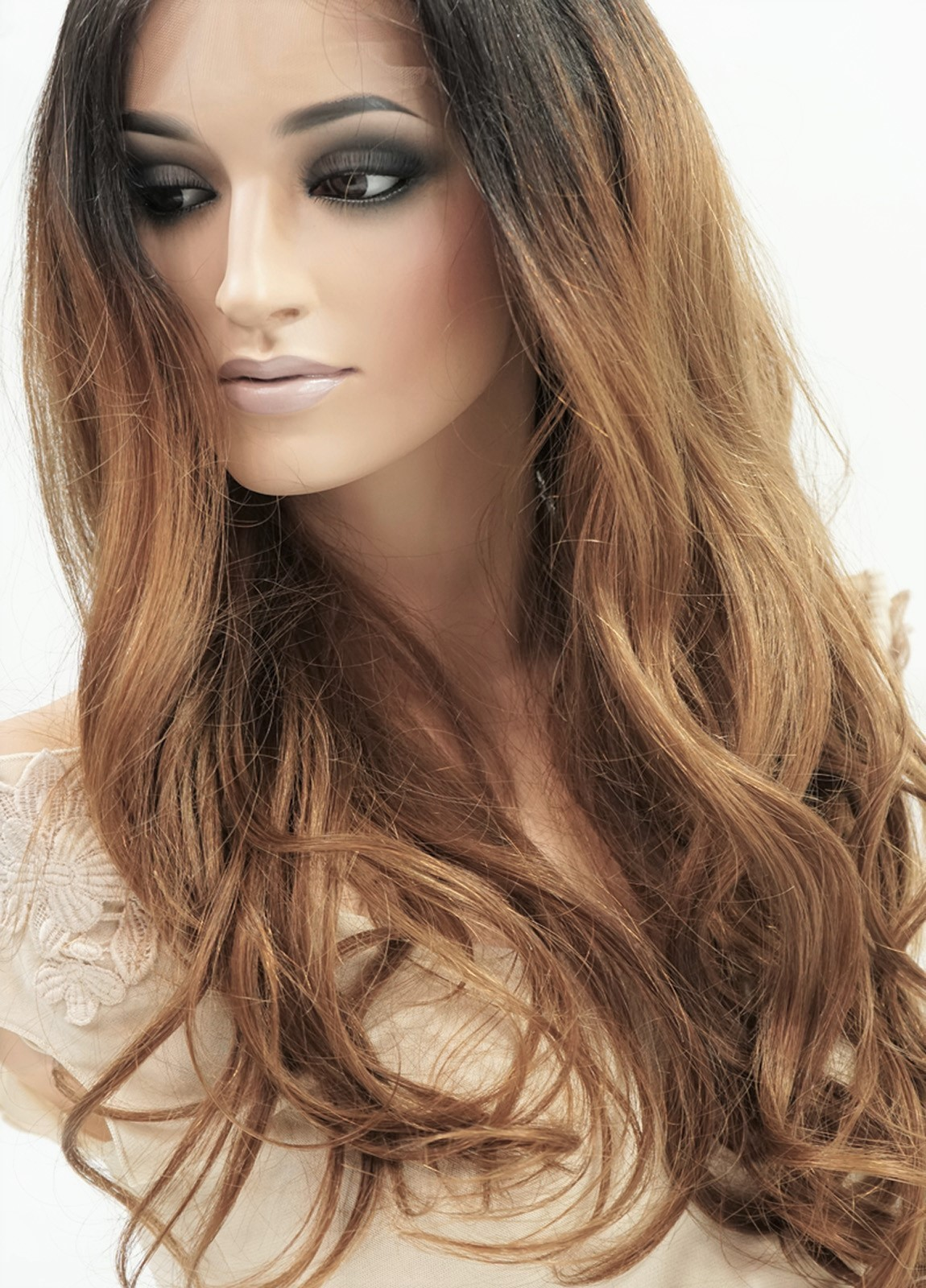Celebrity Human Hair Lace Front Wigs