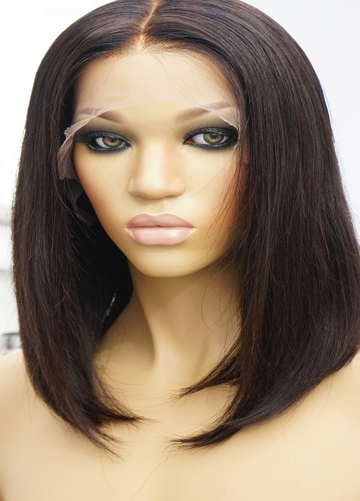 Human Hair Bob Wigs for African American