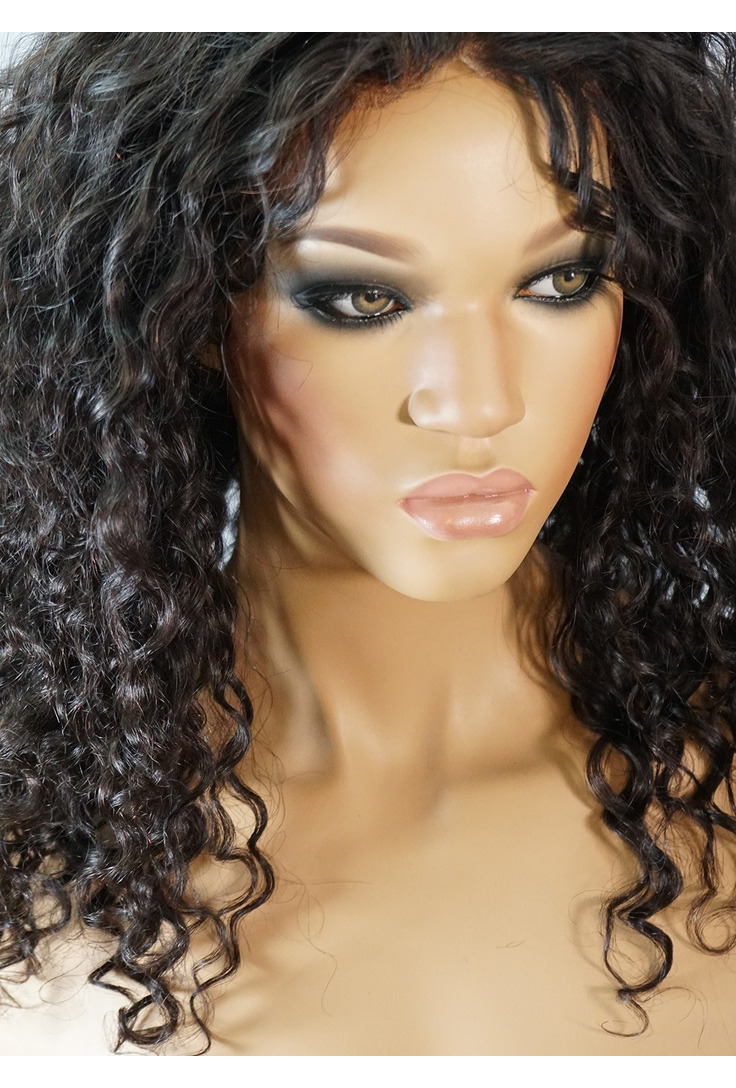 Medium Length Curly Wigs