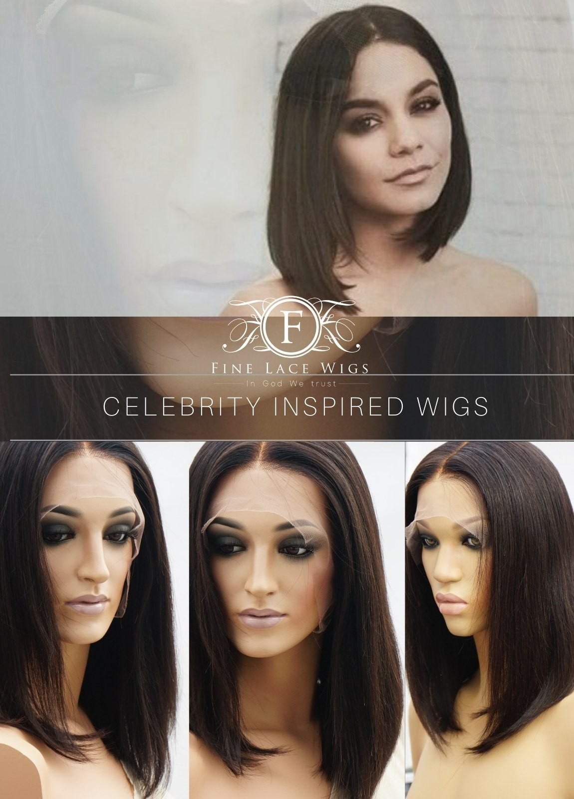Lace Front Celebrity Wigs