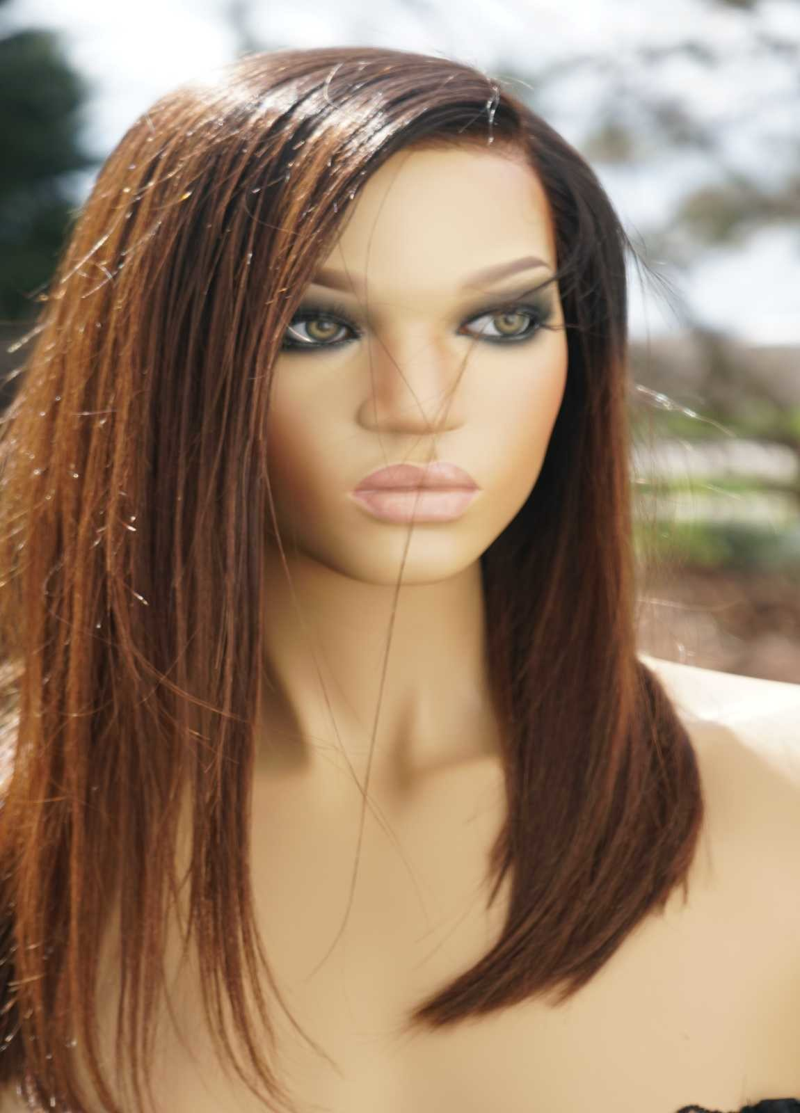 Ombre lace front Bob Wig