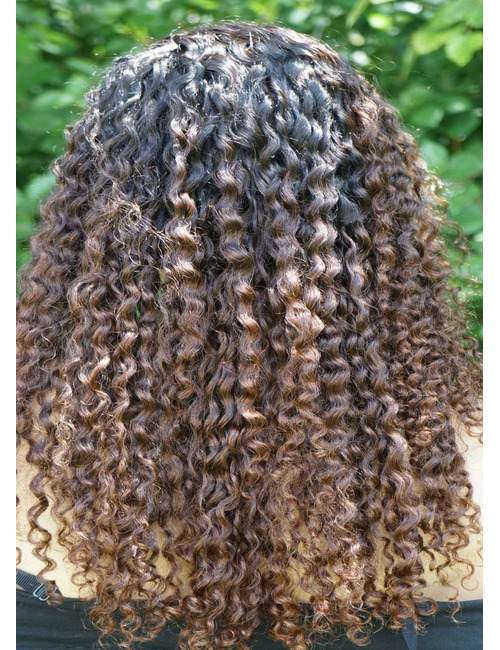 Ombre wigs african american
