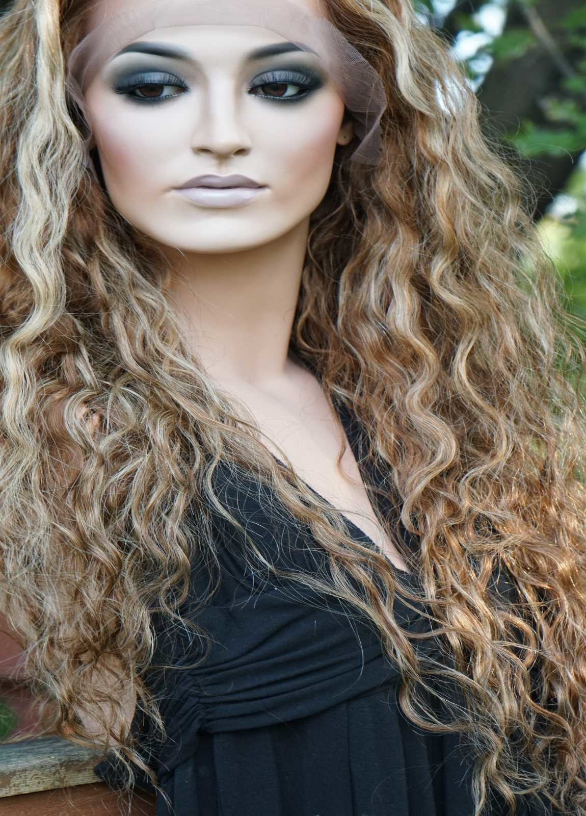 Curly Lace Wig Human Hair
