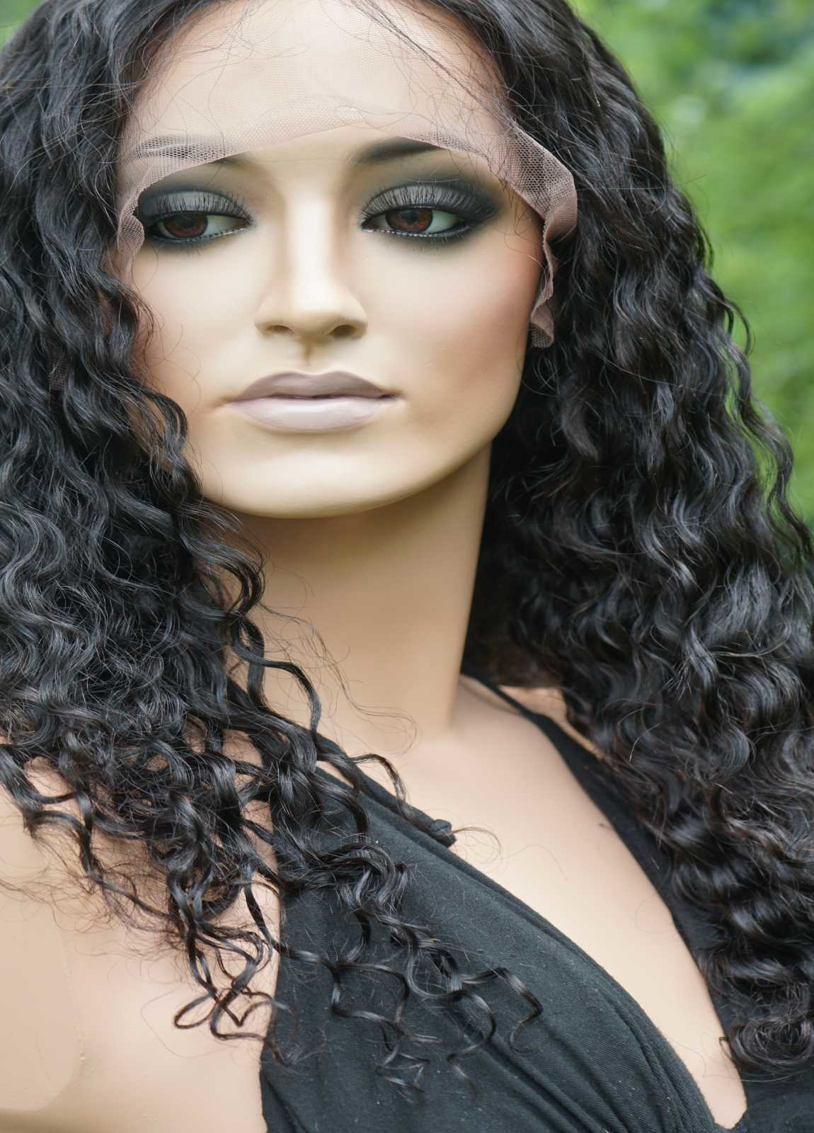 Mid Length Curly Wigs