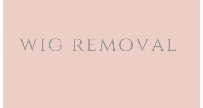 LACE WIG REMOVAL